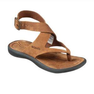Caprizee nubuck leather sandals